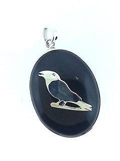 Secret Raven Pendant