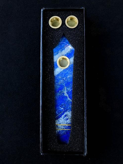 Lapis Lazuli Galaxy Pipe