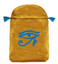 Eye Of Ra Satin Tarot Bag