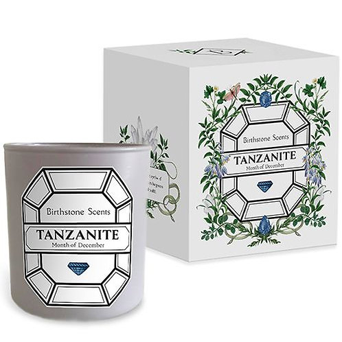 TANZANITE CANDLE | December (Birthstone Scents)