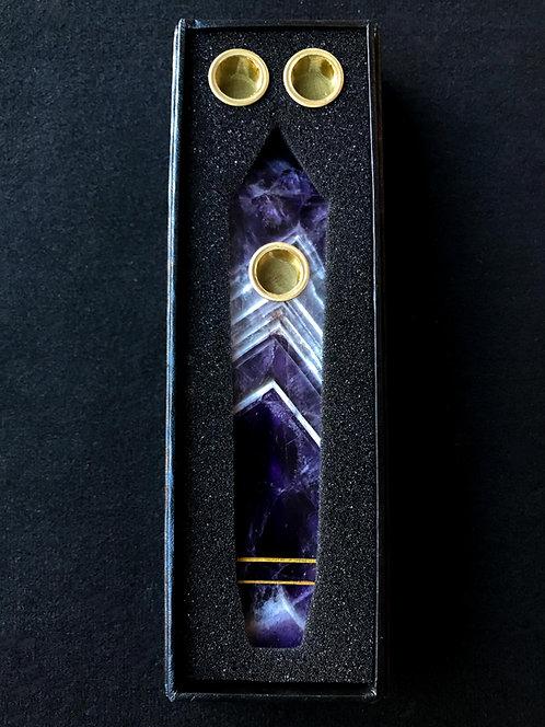 Purple Dream Amethyst Pipe
