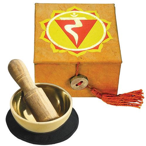Mini Singing Bowl Box: Solar Plexus Chakra