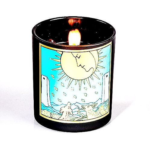 Moon Tarot candle Magic