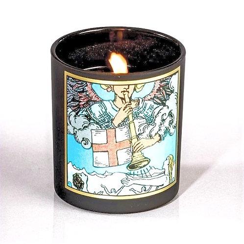 Judgement Tarot Candle