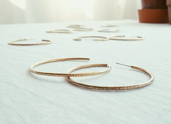 Brass Hoops