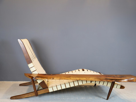 """SOLD""""Long Chair"""" - George Nakashima (SOLD)"""
