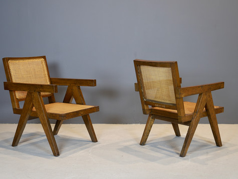 Pierre Jeanneret - Easy Chairs, 1950