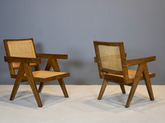 SOLD Pierre Jeanneret - Easy Chairs, 1950