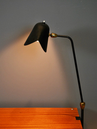 """SOLD Serge Mouille - """"Agrafee"""" Lamp (SOLD)"""