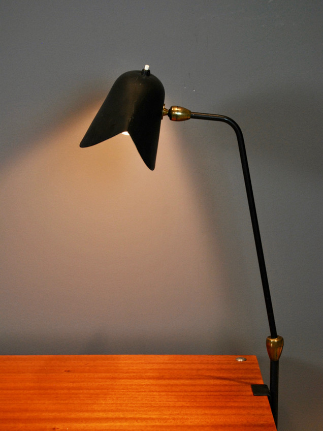 "SOLD Serge Mouille - ""Agrafee"" Lamp (SOLD)"