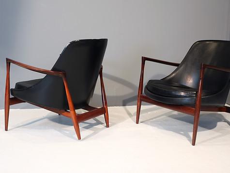 "Ib Kofod Larsen ""Elizabeth"" Chairs (SOLD)"