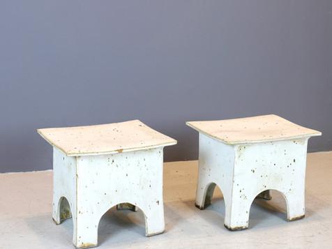 Vintage Japanese Ceramic Stools (SOLD)