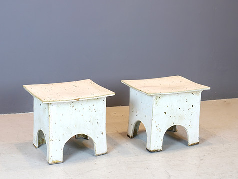 Vintage Japanese Ceramic Stools (SOLD)