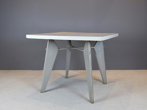 "Jean Prouvé - ""Gueridon"" Table"
