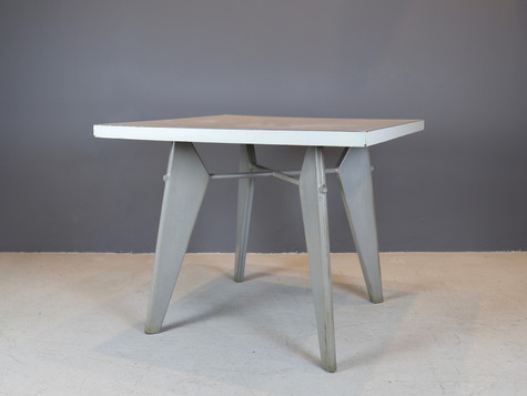 "Jean Prouvé - ""Gueridon"" Table"