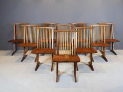 SOLD George Nakashima Conoid Chairs