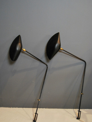 Pair of Serge Mouille Wall Lamp (SOLD)s (SOLD)