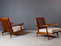 George Nakashima - Pair of Cushion Chairs, 1963