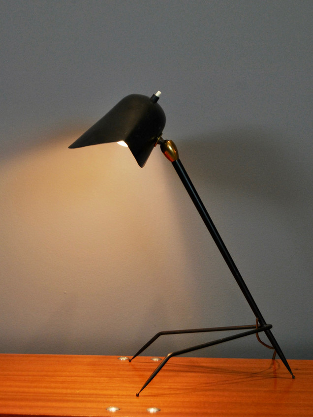 "Serge Mouille - ""Trepied"" Lamp (ON HOLD)"