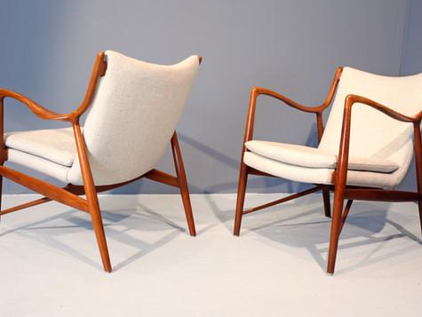 Finn Juhl, NV 45 Chairs (SOLD)