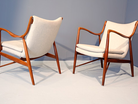 Finn Juhl, NV 45 Chairs (SOLD)