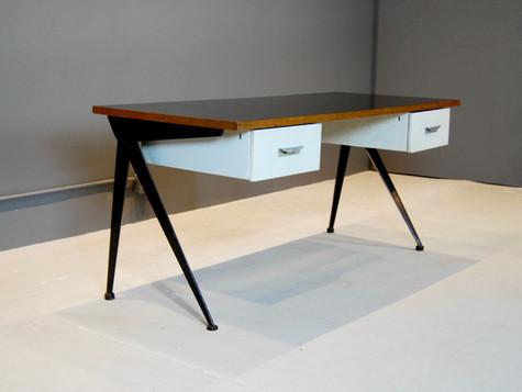 Jean Prouve Compass Desk, 1950
