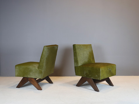 Pierre Jeanneret - Low Chairs, 1955-56