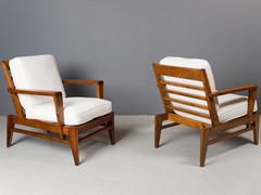 SOLD René Gabriel - Lounge Chairs, 1950s