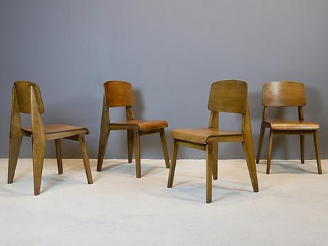 Jean Prouvé - Tout Bois Chairs (SOLD)