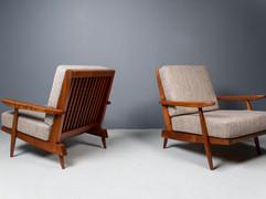 SOLD George Nakashima - Cushion Chairs