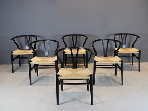 "Hans Wegner ""Wishbone"" Chairs"