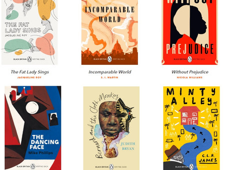 Black Britain: Writing Back series, curated by Bernadine Evaristo