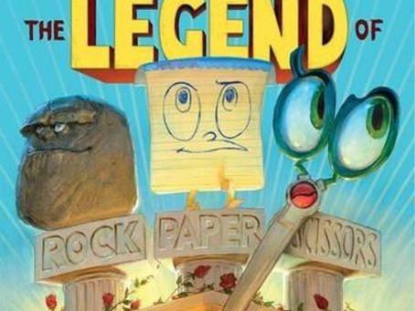 The Legend of Rock Paper Scissors by Drew Daywalt, illustrated by Adam Rex