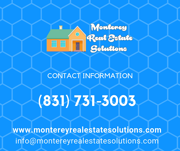 Monterey Real Estate Solutions Contact Information