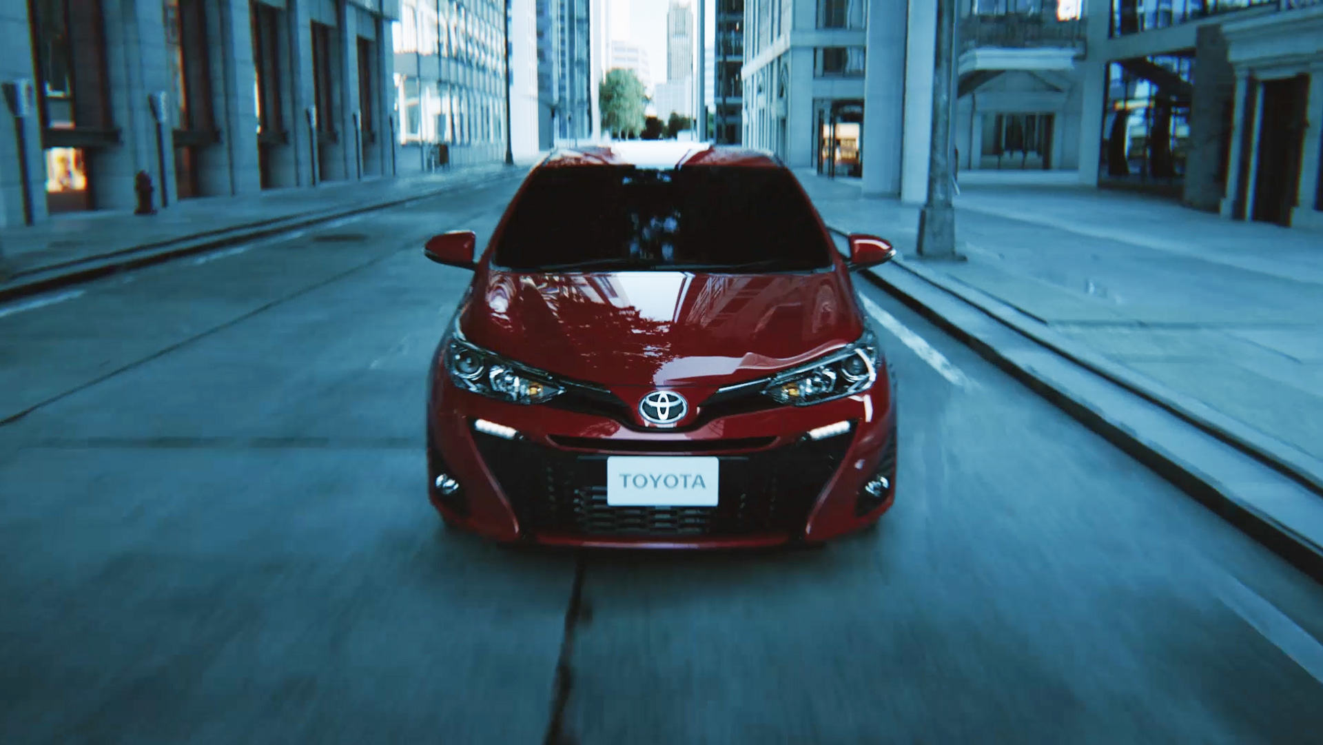 TOYOTA Yaris Hatchback Expand the future