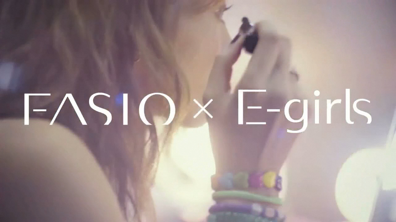 KOSE FASIO x E-girls