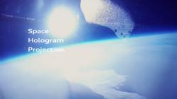 Audi Space Hologram Projection