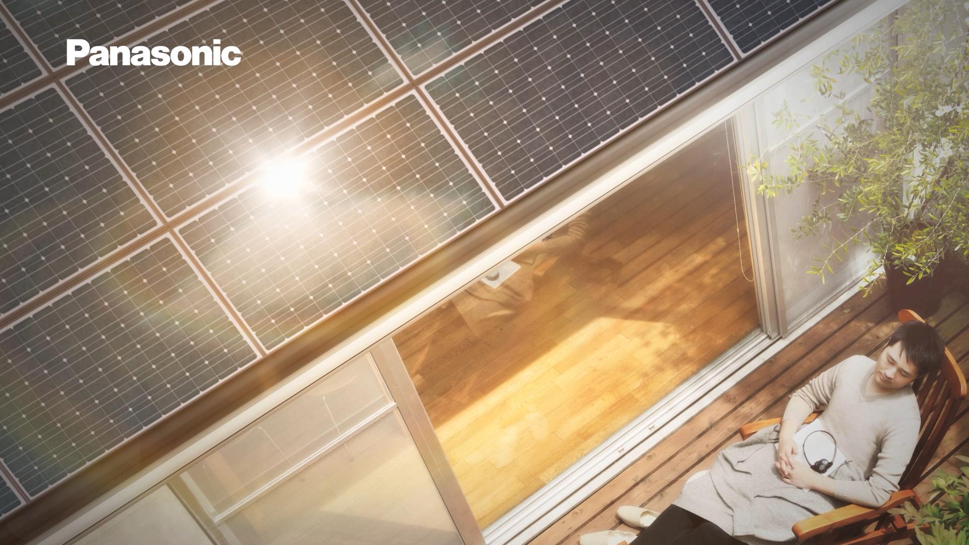 Panasonic 太陽光発電システムHIT 「ソーラーカー」篇