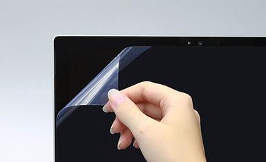 Nanoshield Protective Film applied to touchscreen
