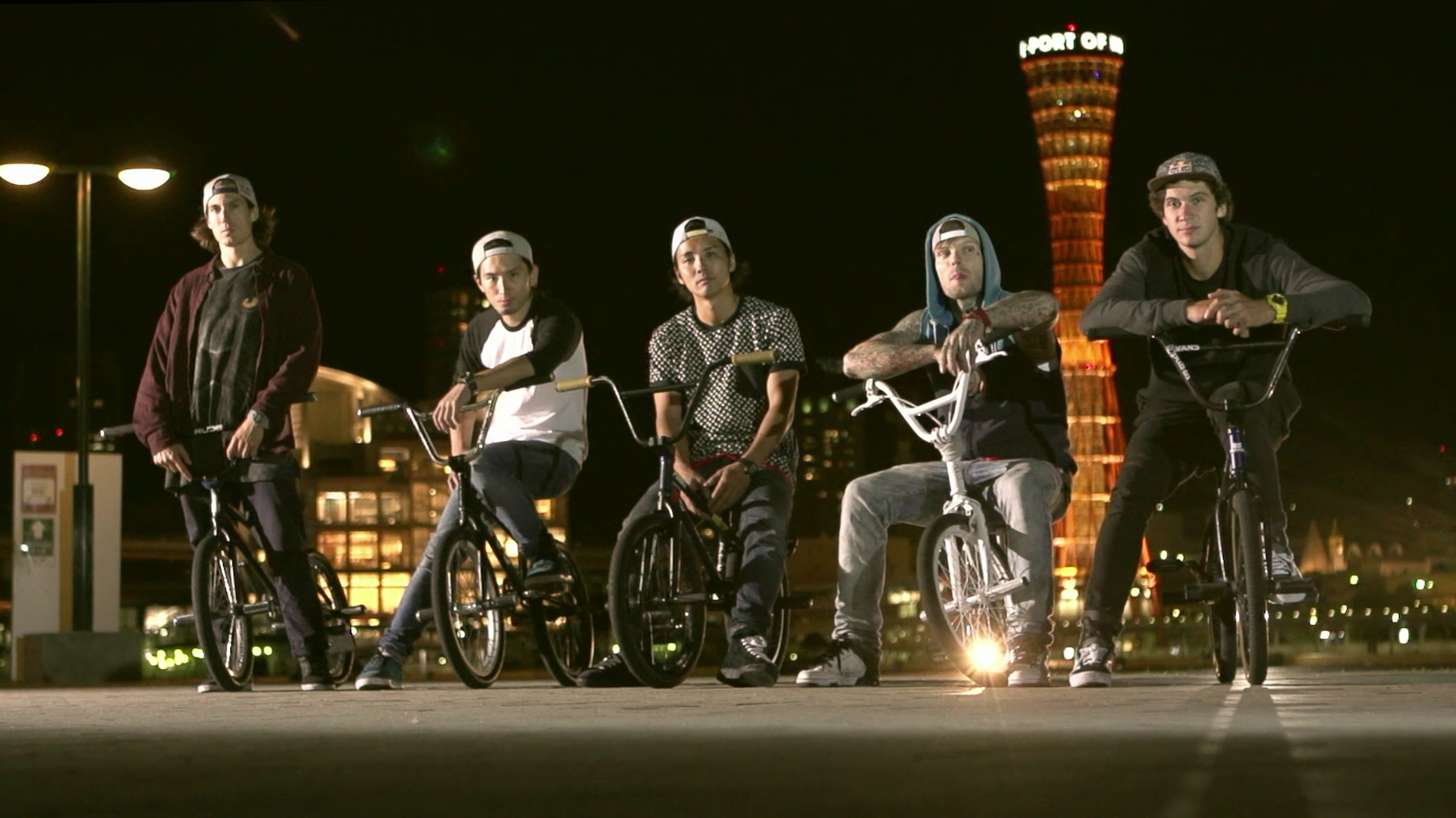 G-SHOCK TEAM G-SHOCK BMX FLATLAND Crew J