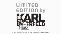 LIMITED EDITION by KARL LAGERFELD:CHOUPE