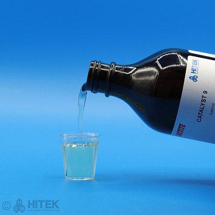 Catalyst 9, clear liquid