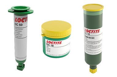 Loctite GC 50, GC 18 and GC 10 Solder Paste