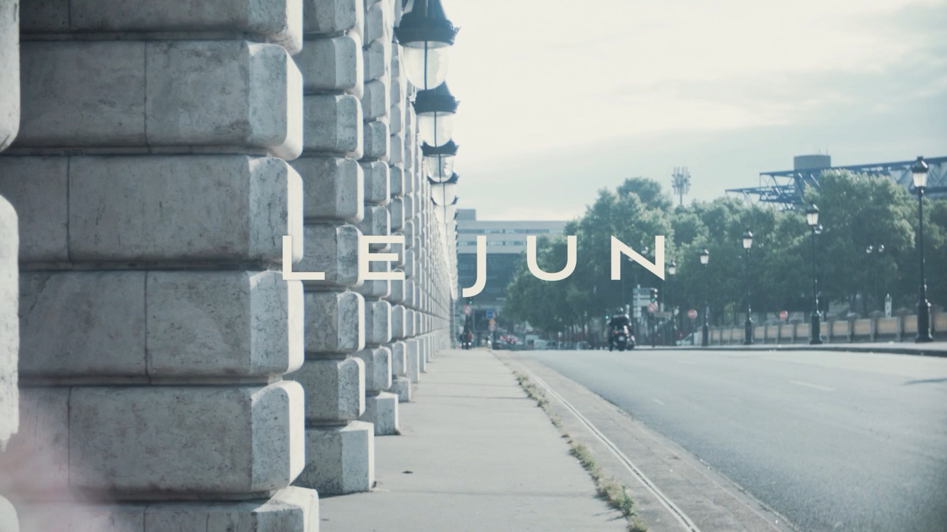 LE JUN CONCEPT MOVIE - 2014 AUTUMN & WINTE