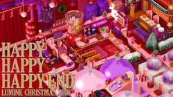 LUMINE CHRISTMAS 2018 HAPPY HAPPY HAPPY END