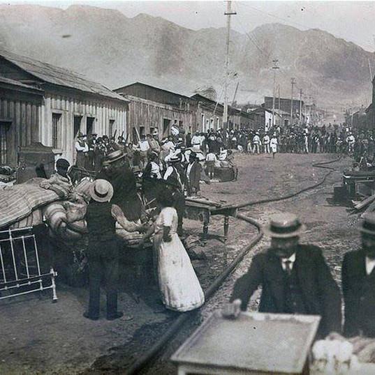 Baquedano desde Ossa hacia 14 de Febrero