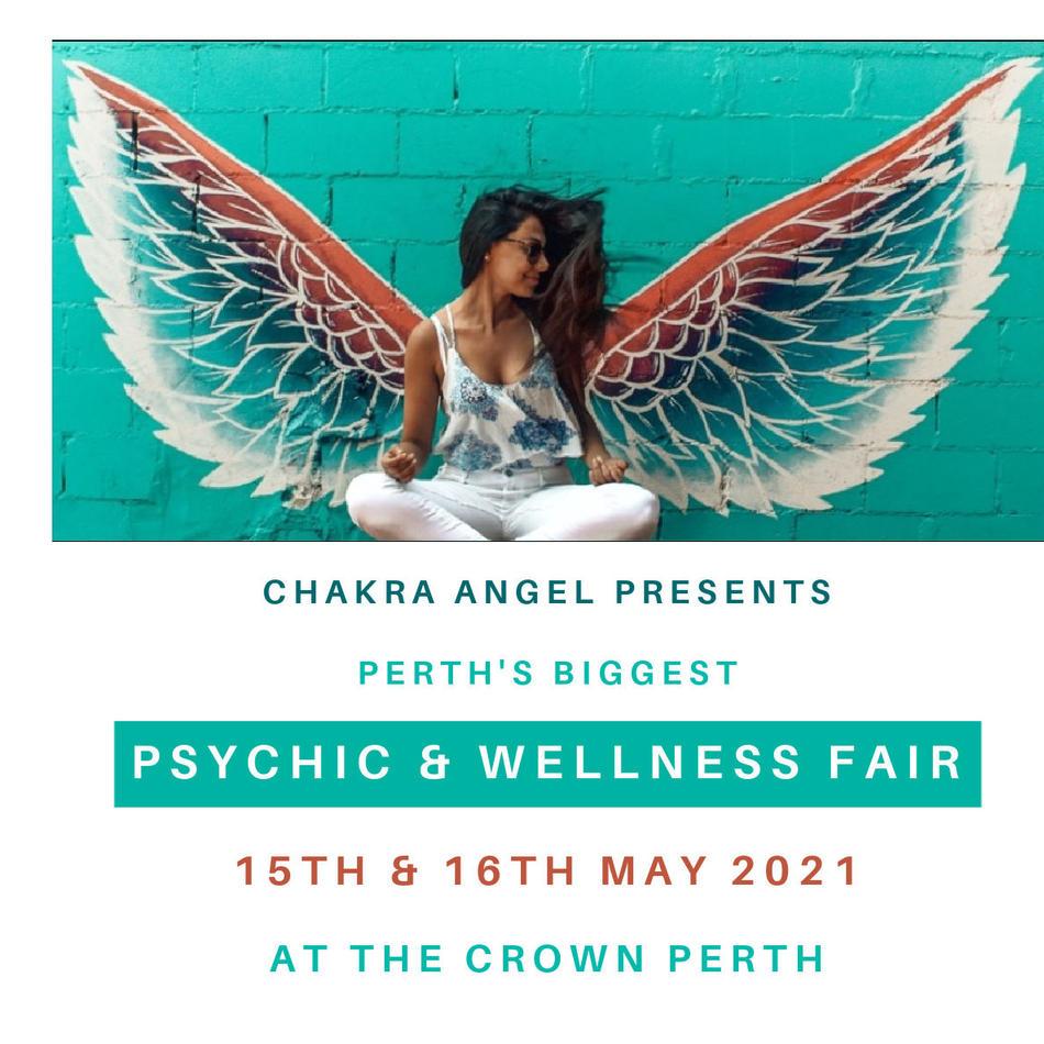 TALK AT PSYCHIC & WELLNESS FAIR