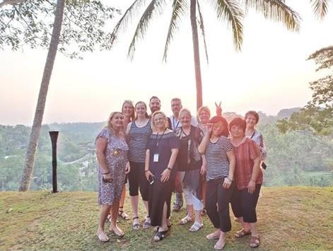 Group sunset