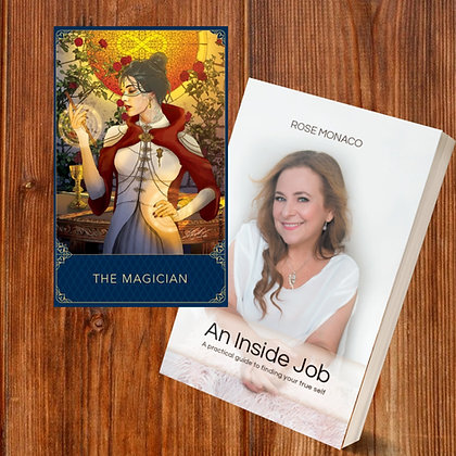 BUNDLE PACK - THE MAGICIAN TAROT & AN INSIDE JOB