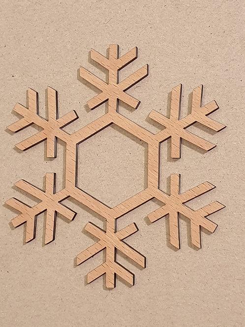 Sněhová vločka - motiv 6